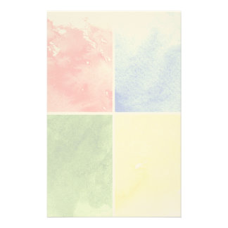 colorful watercolor background for your design stationery