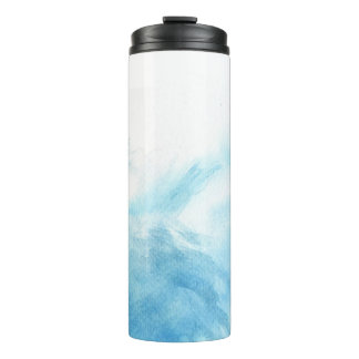 colorful watercolor background for your thermal tumbler