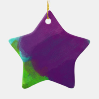 Colorful Watercolor Christmas Ornament