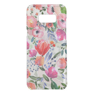 Colorful Watercolor Flowers Pattern Uncommon Samsung Galaxy S8 Plus Case