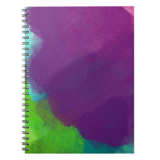 Colorful Watercolor Notebook