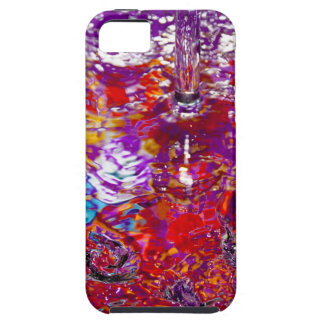 Colorful Waters Abstract Photo Tough iPhone 5 Case