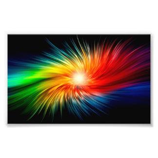 Colorful Waves 25.4cm x 20.32cm- Photo Paper