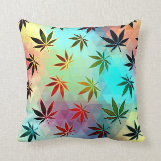 Colorful Weed Cushion