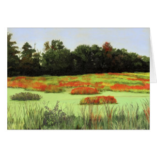 Colorful Wetlands Card