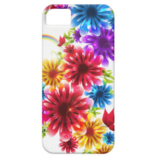 Colorful Wild Flower iphone5 Case Design iPhone 5 Cover