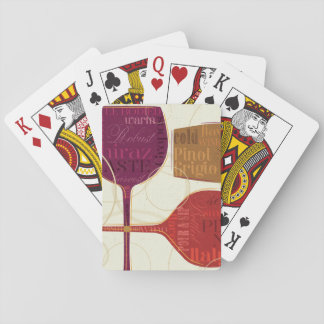 Colorful Wine Poker Deck