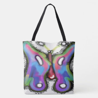 Colorful Wings All-Over-Print Tote Bag