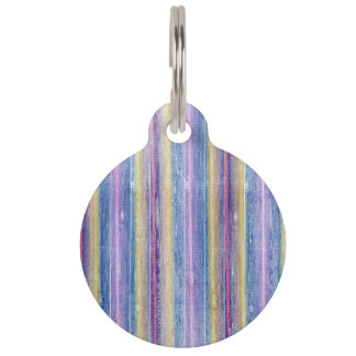 colorful wood gifts pet ID tags