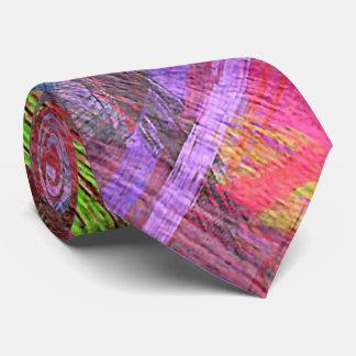 Colorful Wood Grain #8 Tie