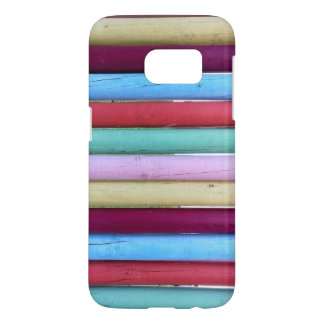 Colorful Wood Pegs Fun Cell Phone Case
