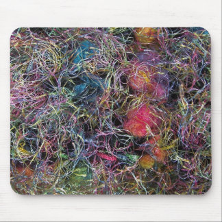 Colorful Wool mouspad Mouse Pad