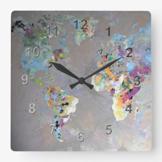Colorful World Clock