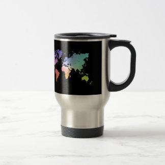 Colorful World Stainless Steel Travel Mug
