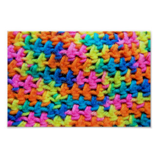 Colorful Yarn Poster