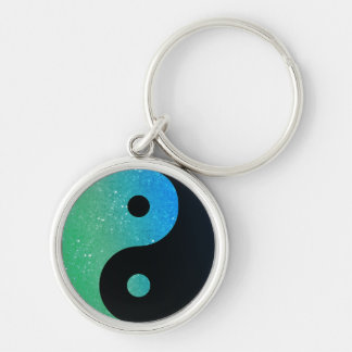 Colorful Yin Yang Keychain 1
