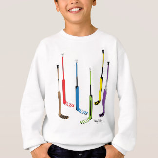 Colorful Youth Hockey Goalie Sticks Sweatshirt