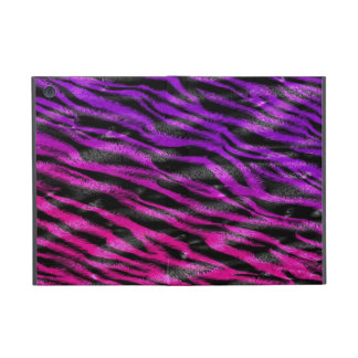 Colorful zebra fur skin Powis ipad case