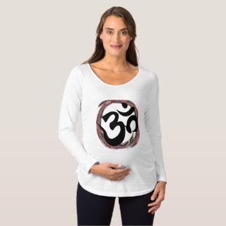 Colorful Zen Ohm Maternity T-Shirt