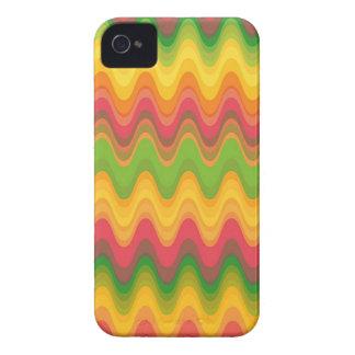 Colorful Zig Zag Pattern Chevron iPhone 4 CaseMate iPhone 4 Case-Mate Case