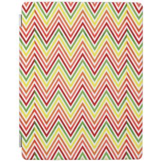 Colorful Zigzag Chevron Pattern iPad Cover