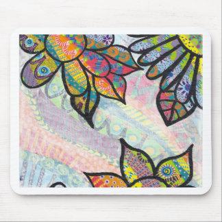 ColorfulFlowers jpeg Mouse Pads