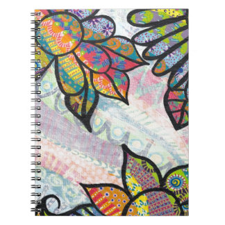 ColorfulFlowers jpeg Notebook