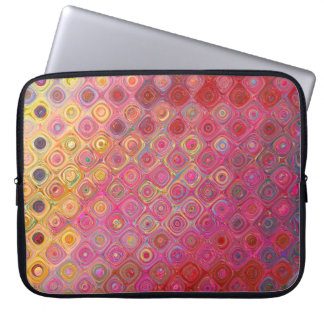 Colorfull Artistic Retro Pattern Laptop Sleeve