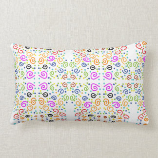 colorfull decorating pattern pillow