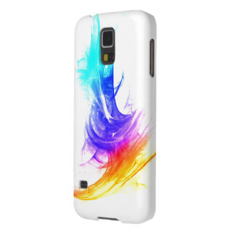 Colorfull Simple Stroke over White Galaxy S5 case