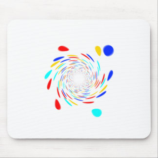 Colorfull Swirl Pattern Mousepad