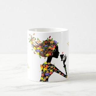 colorfull women mug