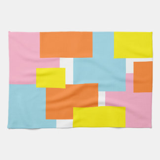 Colorfully Abstract Tea Towel
