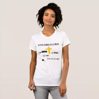 Colorguard Born to Toss T-Shirt