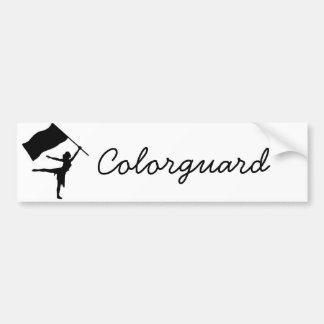 Colorguard Bumper Sticker
