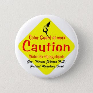 Colorguard, Gov. Thomas Johnson H.S.  Patriot M... 6 Cm Round Badge