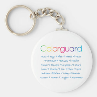 Colorguard Key Ring