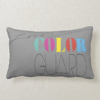 Colorguard - Love Colorguard | Throw Pillow