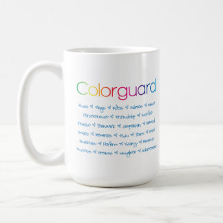 Colorguard Personalized Coffee Mug