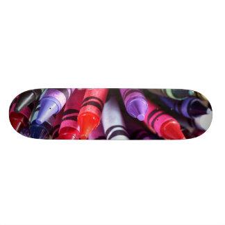 Coloring board skate deck