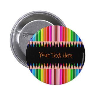 Coloring Pencils custom button
