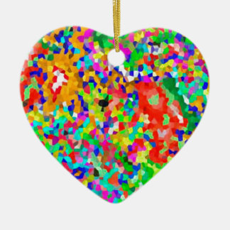 ColorMANIA ARTISTIC Creation:  lowprice GIFTS ZAZZ Christmas Ornament