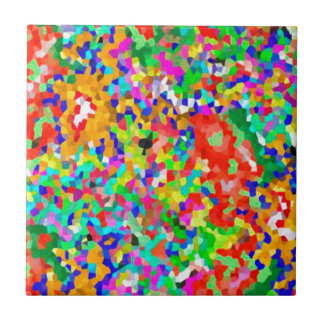 ColorMANIA ARTISTIC Creation:  lowprice GIFTS ZAZZ Ceramic Tile