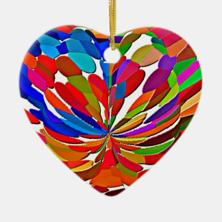 COLORmania LOTUS Abstract ColorSHOW Christmas Ornament