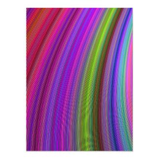 Colors 17 Cm X 22 Cm Invitation Card