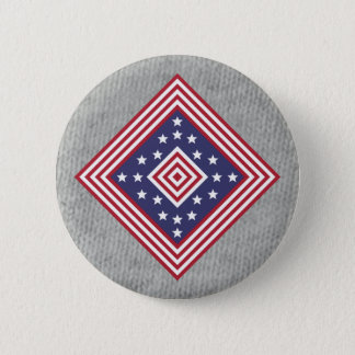 Colors Badge: America 6 Cm Round Badge