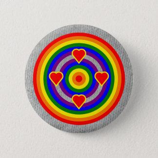 Colors Badge: LGBT+ 6 Cm Round Badge