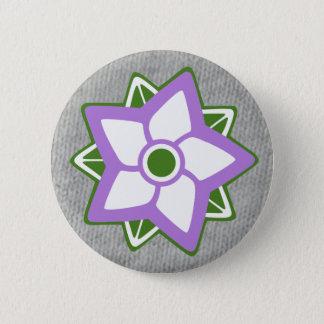 Colors Badge: Non-Binary Gender, Genderqueer 6 Cm Round Badge