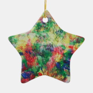 colors christmas ornament