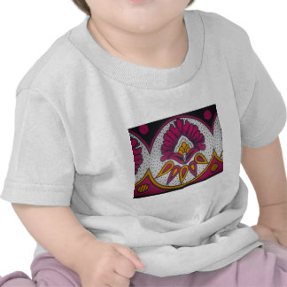 colors cool retro vintage African traditional styl T Shirt